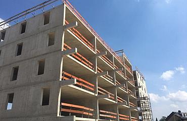 Barendrecht, Stationstuin: nieuwbouw De Coupé krijgt vorm