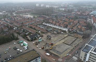 Drone foto Nachtegaal - Spijkenisse